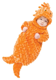 Infant Goldfish Costume Bunting