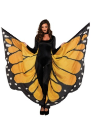 Women's Monarch Butterfly Wings