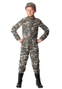 Modern Combat Soldier Costume for Boys